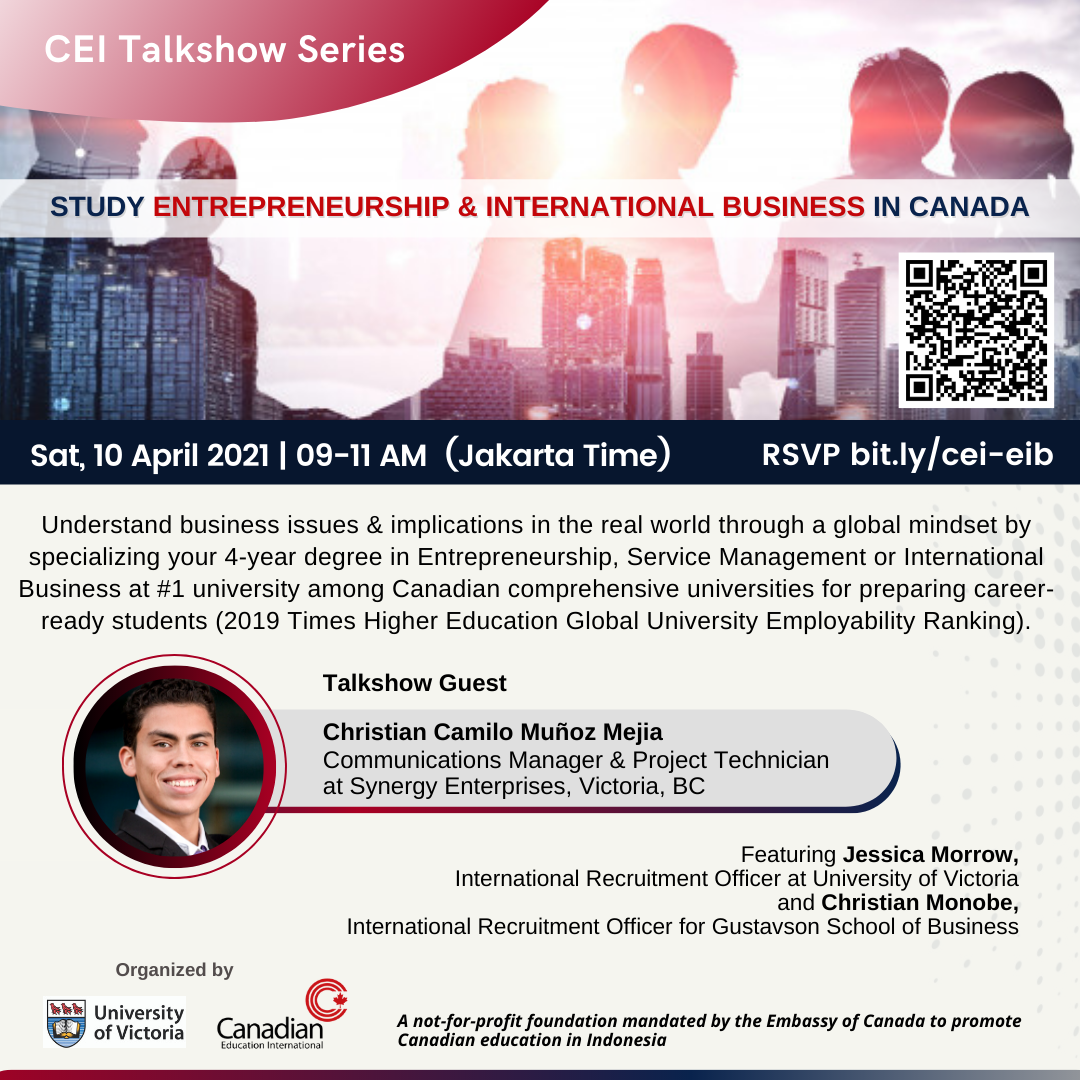 CEI Talkshow Flyer - EIB
