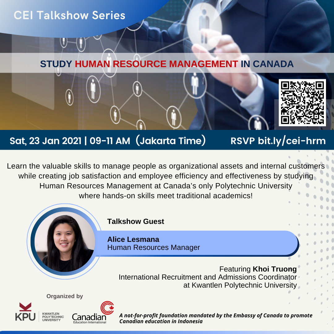 CEI Talkshow Flyer - HRM